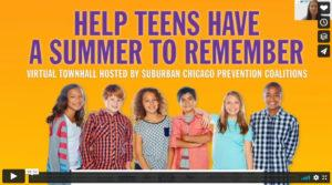 Community - The Anti-Drug Coalition (CTAD) co-hosts a virtual townhall on preventing teen drinking in the summer.